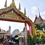 วัดหัวลำโพง (Wat Hua Lumphong) สี่พระยา กรุงเทพ